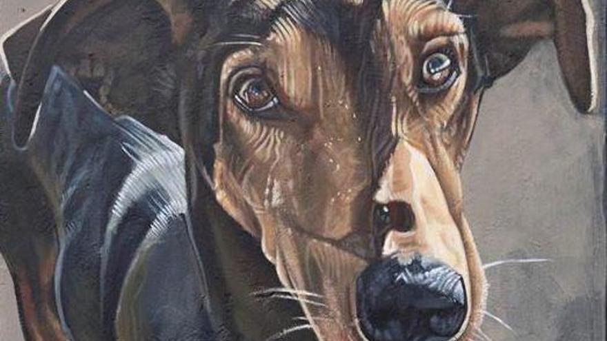 Mural en homenaje a 'Timple' de Sabotaje al Montaje.
