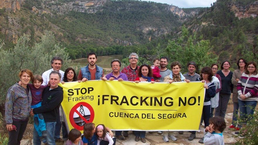 Concentración Stop Fracking