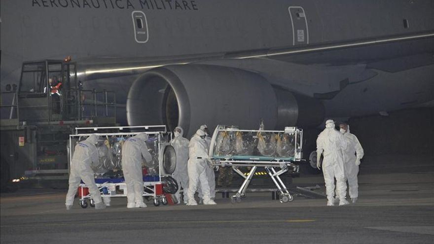 Empeora el estado de salud del enfermo de ébola italiano ingresado en Roma