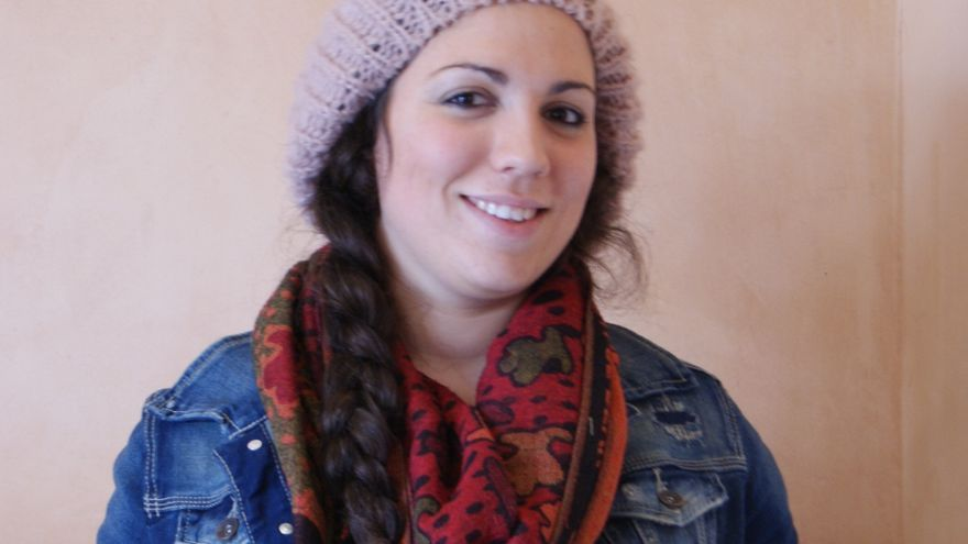 María Núñez lleva cinco años asistiendo al SICE