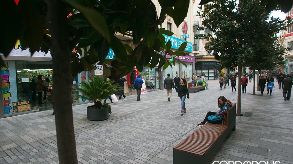 Calle José Cruz Conde, en una imagen de archivo