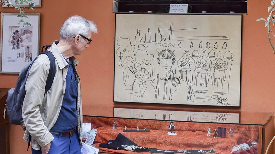 Exposición de Corto Maltés | TONI BLANCO