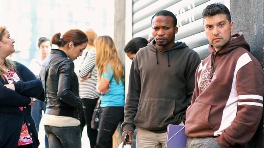 La tasa de paro de los extranjeros que viven en España alcanza el 36,5 por ciento
