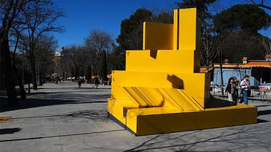 Una de les obres suposadament de Rueda i que estan sent investigades en una exposició a Madrid