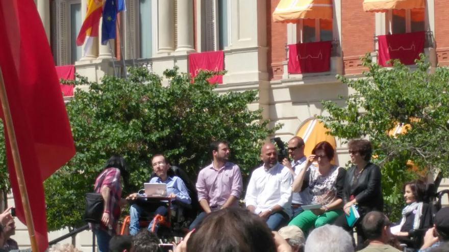 Acto de Unidos Podemos en Ciudad Real