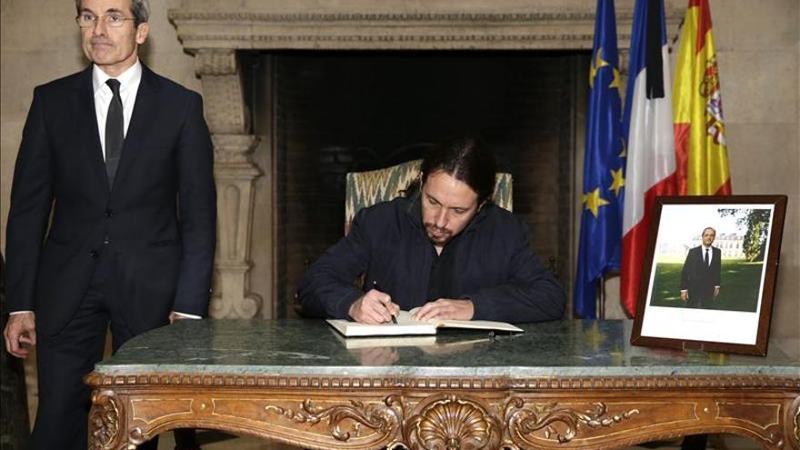 Iglesias pide a Rajoy un Consejo de la Paz con fuerzas políticas y sociales