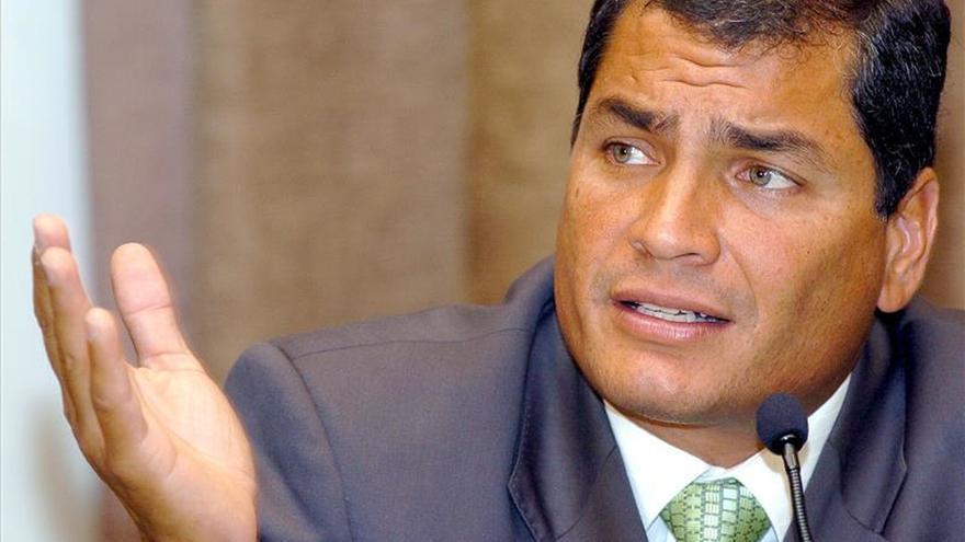 """Rafael Correa es distinguido con un título de doctor """"honoris causa"""" en Argentina"""