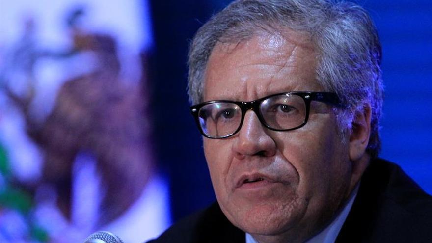 Almagro pide una reunión extraordinaria de la OEA sobre Venezuela para mañana