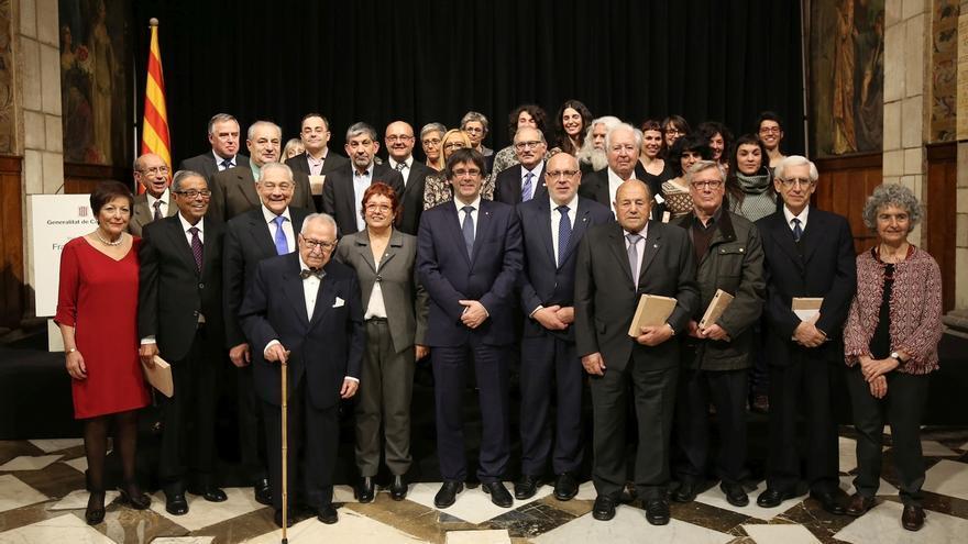 Puigdemont dice que el proyecto independentista va asociado a la lucha contra las desigualdades