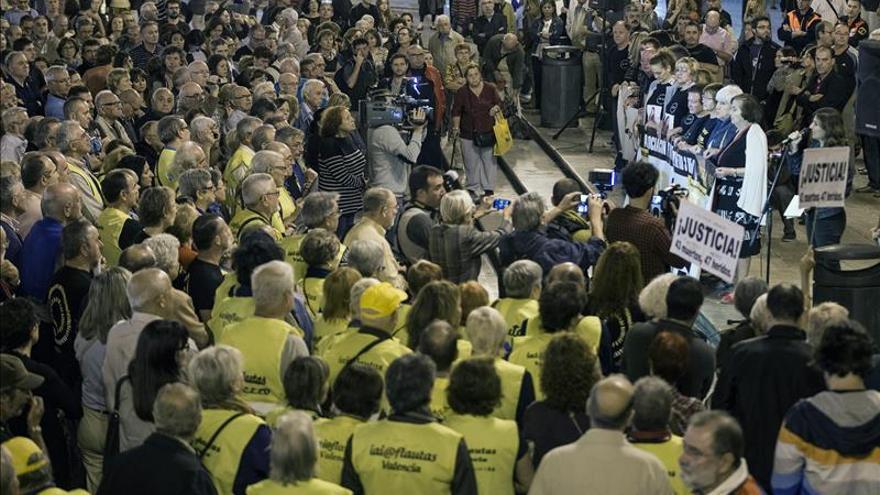 Las víctimas del Metro de Valencia cumplen ocho años de reivindicaciones