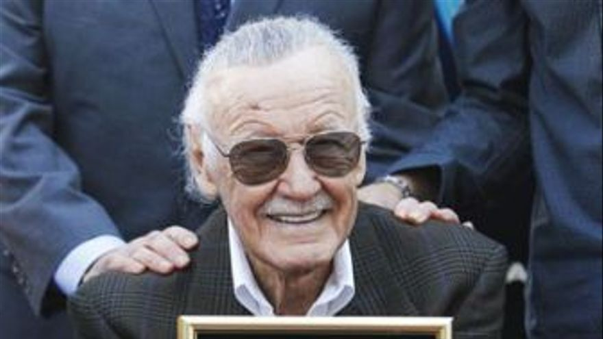 Stan Lee. (EUROPA PRESS)