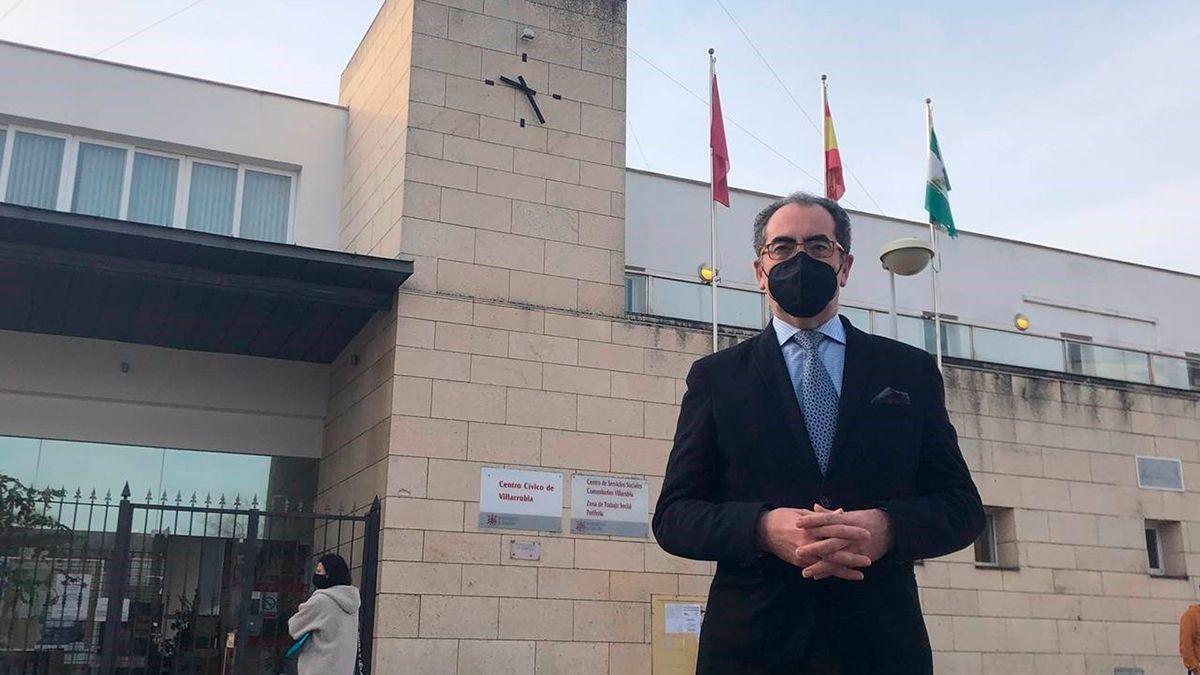 El delegado municipal de Gestión y Administración Pública, Antonio Álvarez.
