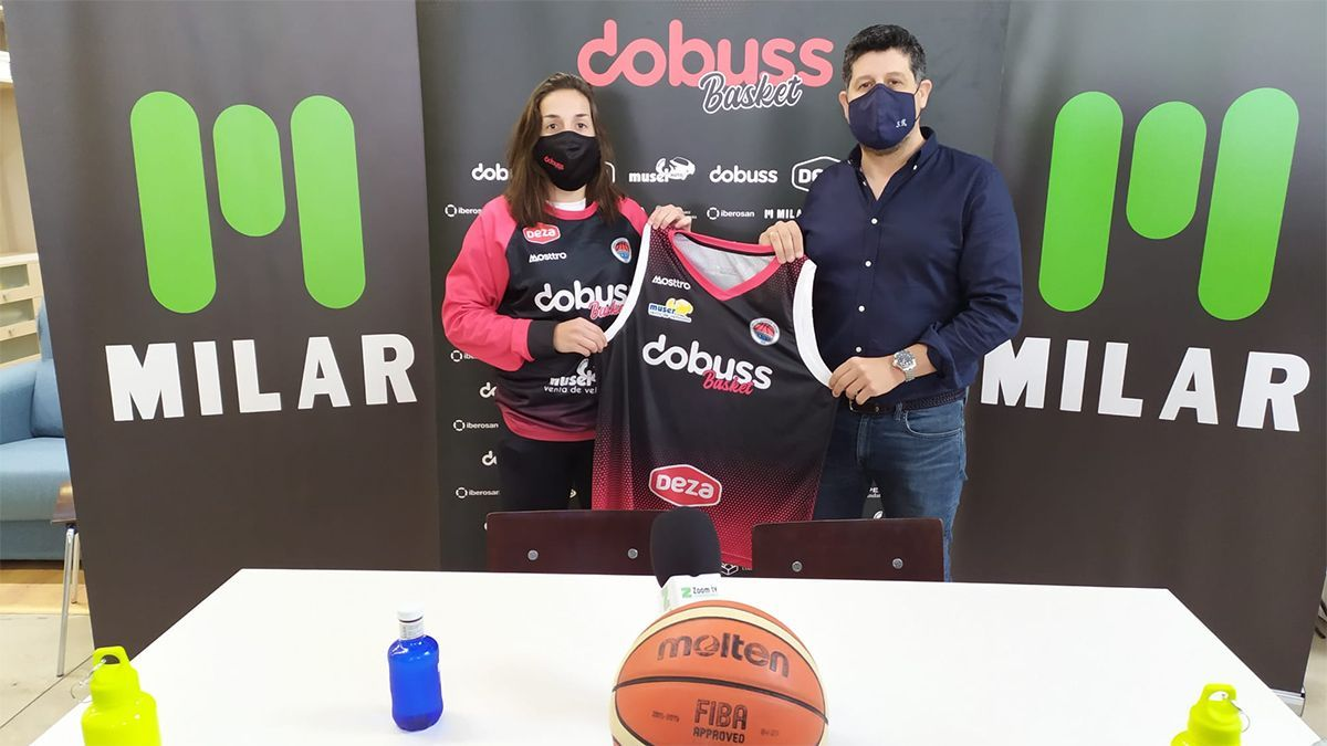 Isabel Latorre, nueva jugadora del Dobuss