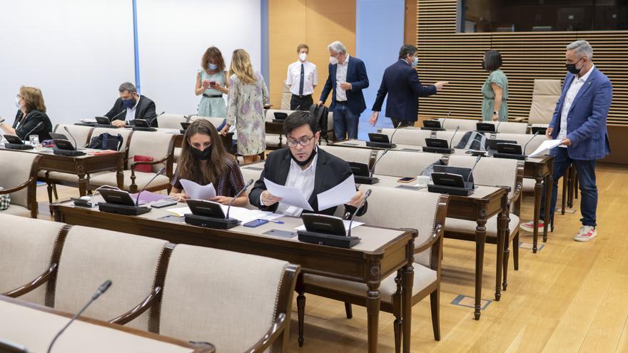 Reunión de la Comisión de Exteriores del Congreso de los Diputados