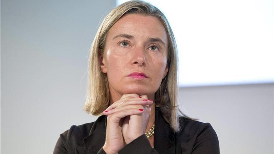 La nueva Alta Representante para la Política Exterior de la UE, Federica Mogherini. \ Efe