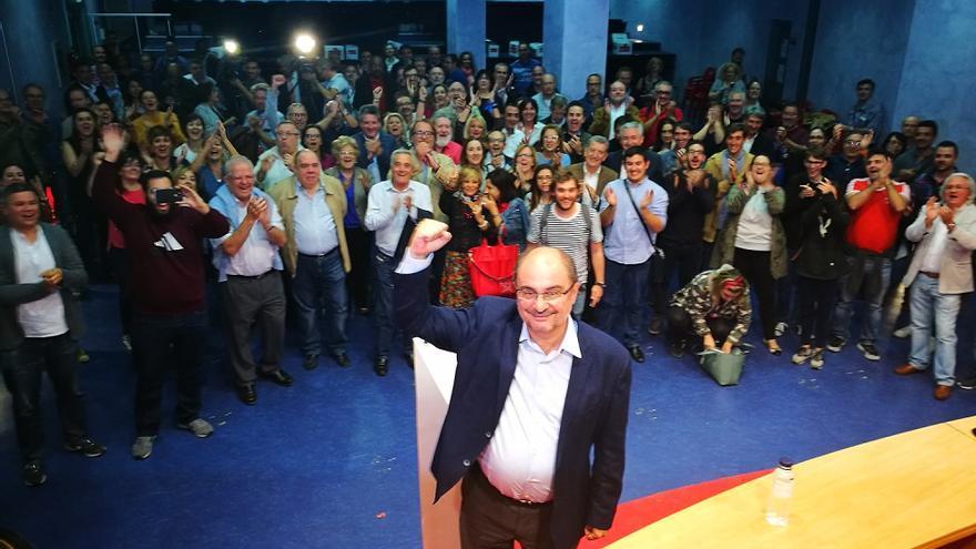 Javier Lambán seguirá al frente de los socialistas aragoneses.