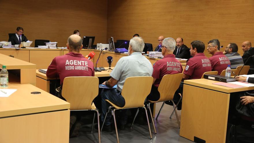 Agentes de Medio Ambiente del Cabildo de Gran Canaria (ALEJANDRO RAMOS)