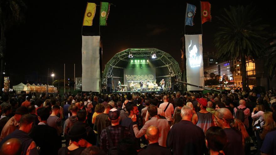 Público disfrutando del Womad de Las Palmas de Gran Canaria