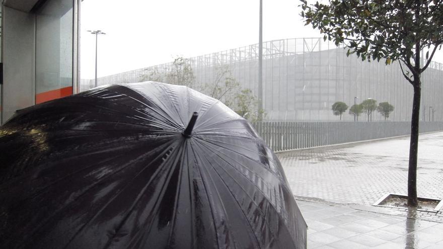Euskadi se mantiene este miércoles en aviso amarillo por precipitaciones que pueden superar los 80 l/m2