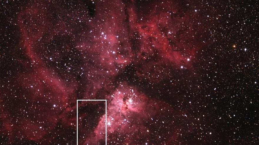 Captan fuertes choques de viento en el reconocido sistema estelar Eta Carinae