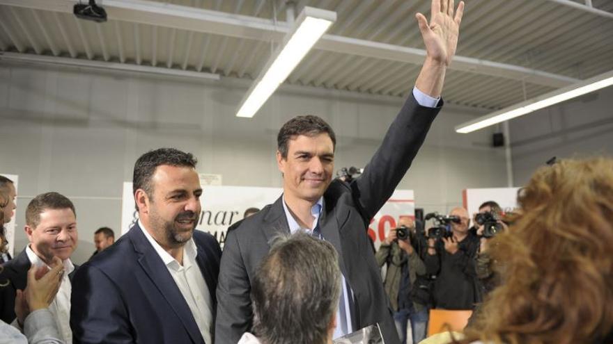 José Luis Blanco y Pedro Sánchez