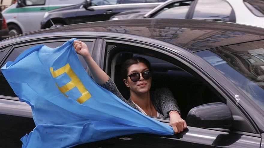 Ucrania recuerda con un minuto de silencio deportación de tártaros de Crimea