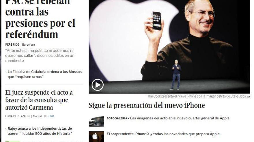 El País iphone