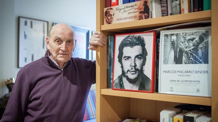 El poeta Marcos Ana será despedido este sábado en el Auditorio Marcelino Camacho de Madrid
