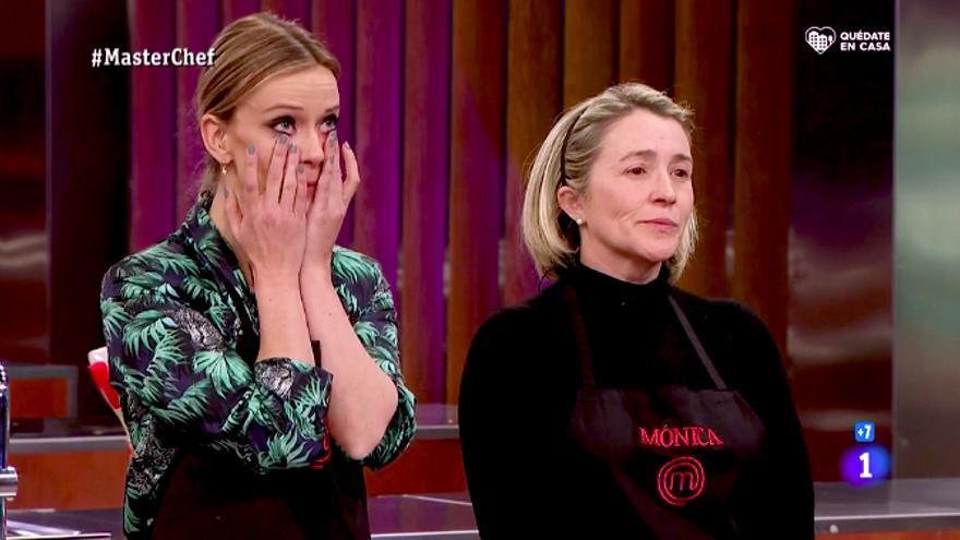 """Inesperada doble expulsión en 'Masterchef 8' de Adrienne y Mónica, por dos platos """"que no se podían comer"""""""