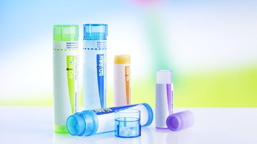 Productos homeopáticos de la multinacional farmacéutica francesa Boiron