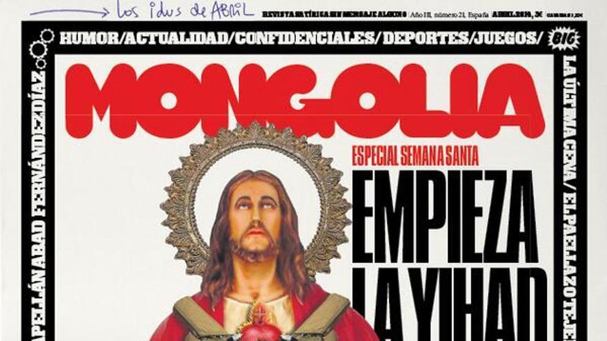 Portada del ejemplar número 21 de la revista satírica Mongolia