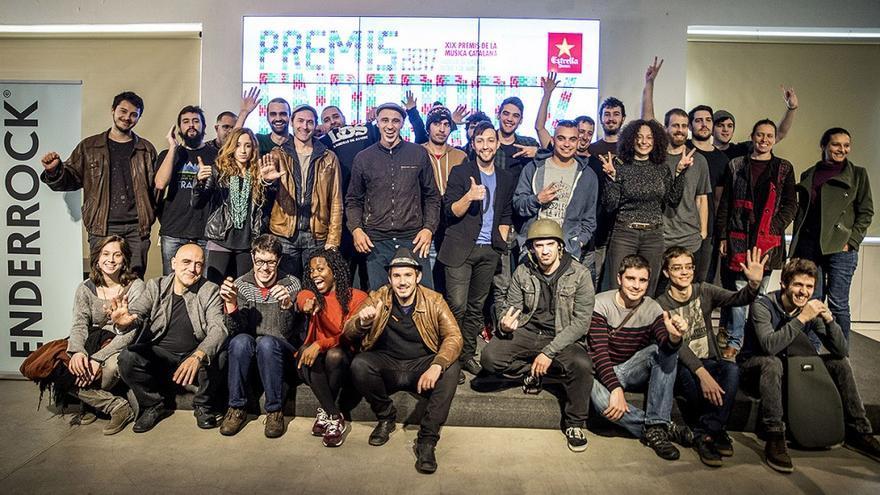 Els nominats de l'edició 2017 dels Premis Enderrock