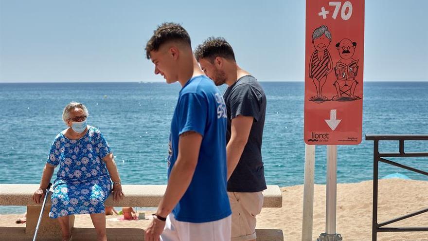 Lloret de Mar (Girona) ha presentado este lunes su plan de playas para una campaña marcada por la pandemia de coronavirus