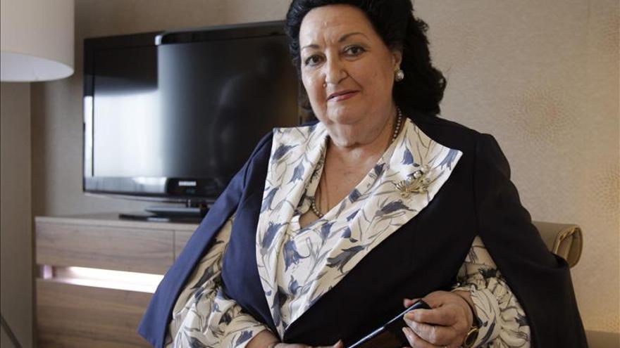 Montserrat Caballé recibe mañana la Medalla Internacional de las Artes