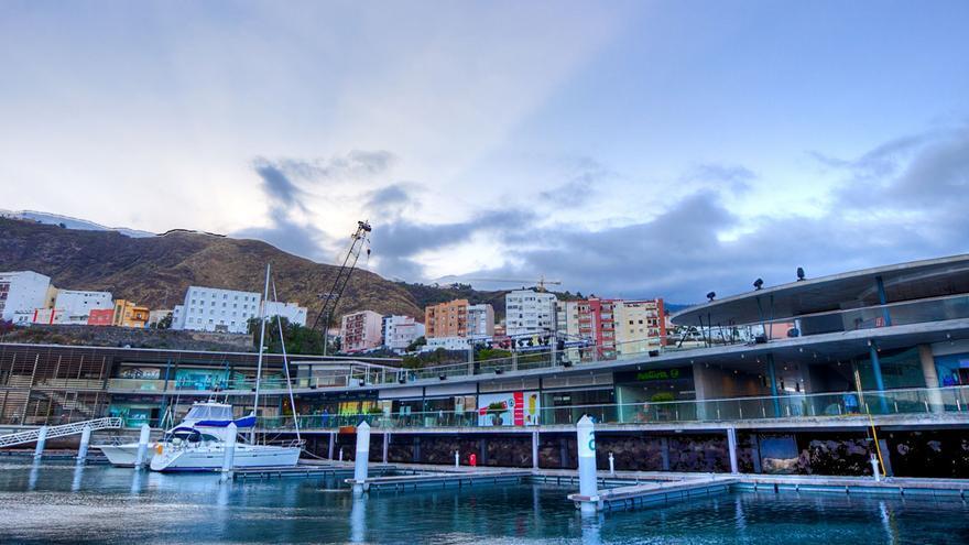 Panorámica de Marina La Palma. Foto. Puerto Calero Marinas SL.