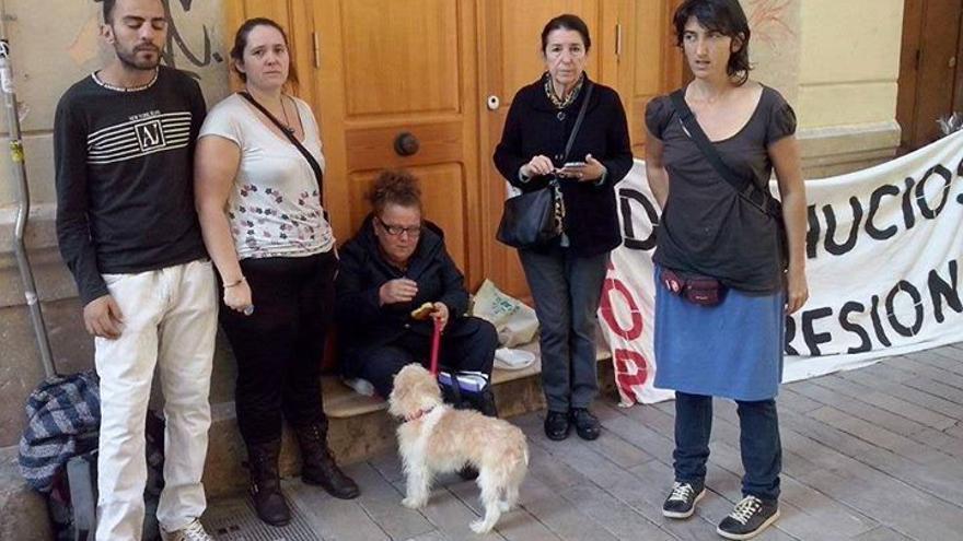 Foto: Fecebook Stop Desahucios Málaga