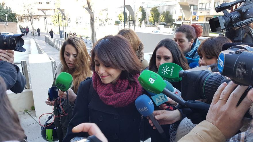 Juana Rivas ha acudido a la vista por la indemnización a su expareja que debe afrontar