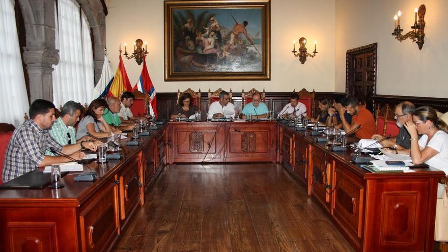 El pleno del Ayuntamento de Santa Cruz de La Palma (en la imagen), celebró el lunes una sesión ordinaria.