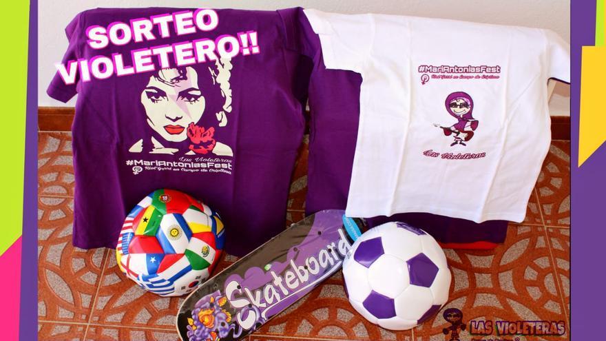 Cartel Concurso Dibujo 'Las Violeteras'