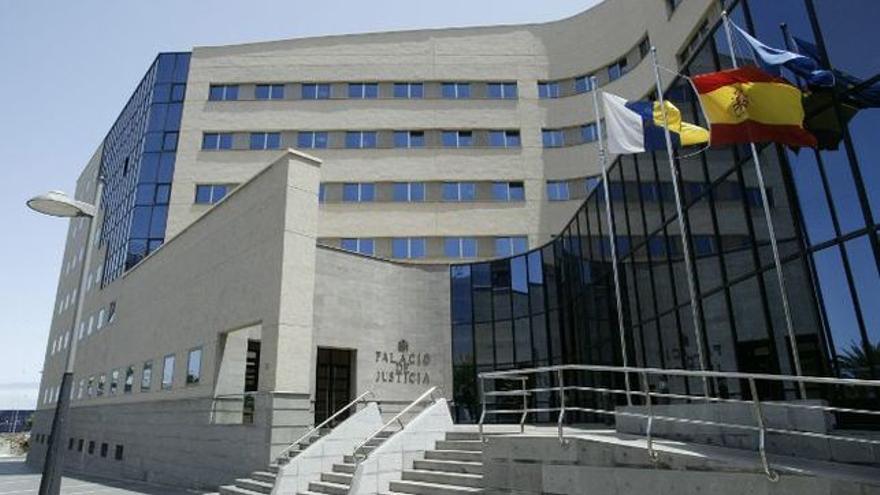 Resultado de imagen de palacio de justicia tenerife