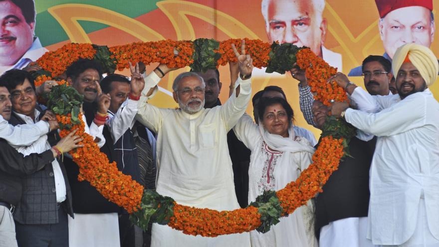 Comienzan en Gujarat unas elecciones clave para el destino político de la India
