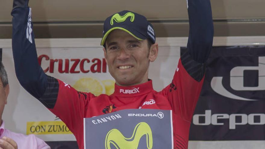 Alejandro Valverde, cinco veces ganador de la Vuelta a Andalucía.