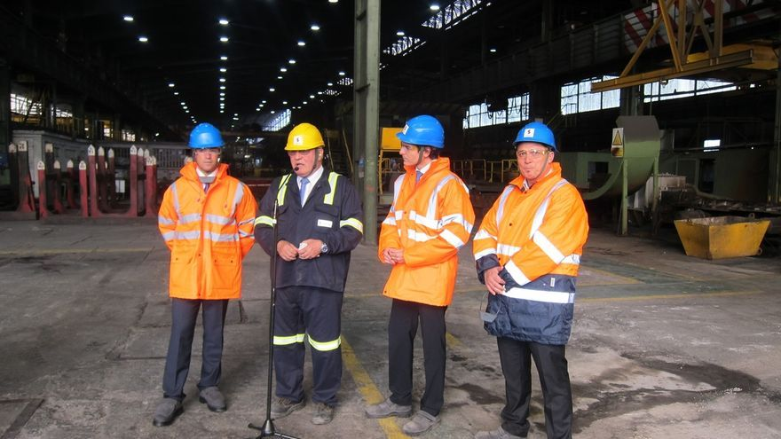 Sidenor invertirá el año que viene 35 millones en su planta de Basauri para mejorar su competitividad