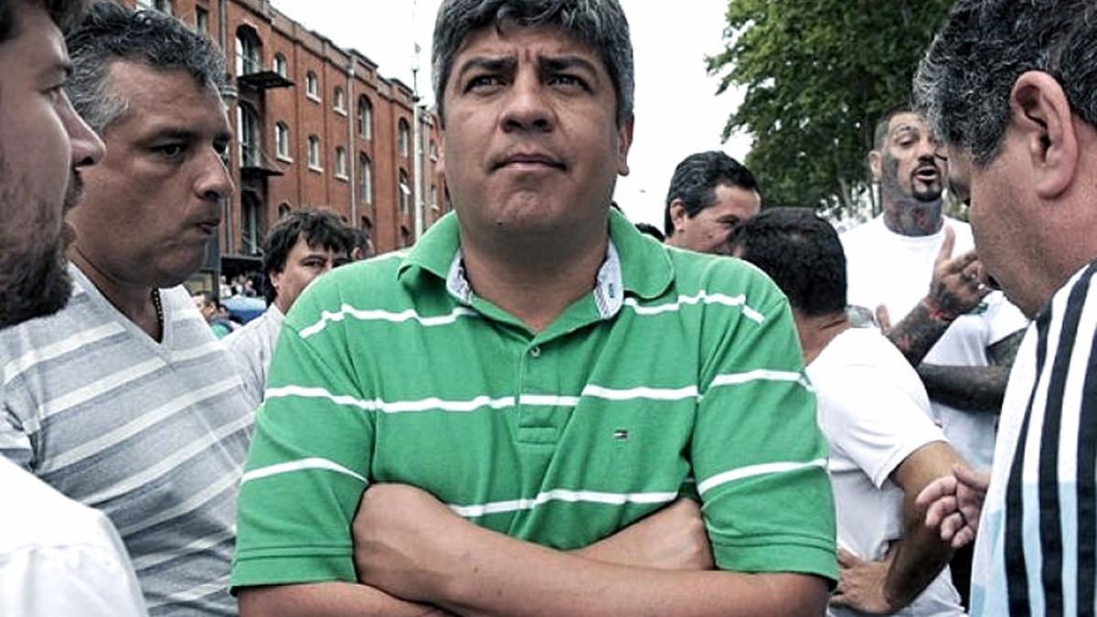 Pablo Moyano, líder del sindicato de Camioneros
