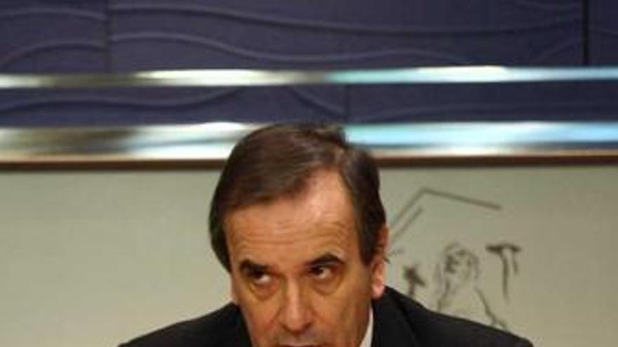 Portavoz Del Grupo Socialista En El Congreso, José Antonio Alonso