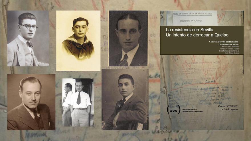 Ángel, Benigno, Miguel, José, Rafael... acusados de tramar un atentado contra Queipo en 1937.
