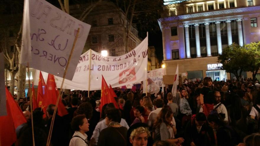 Manifestación del 8 de marzo en Sevilla.