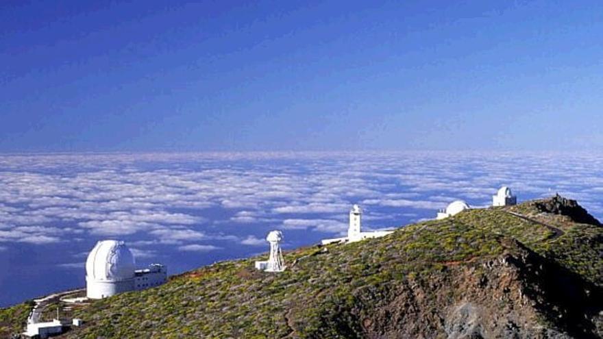 Instituto de Astrofísica de Canarias en La Palma. (CANARIAS AHORA)