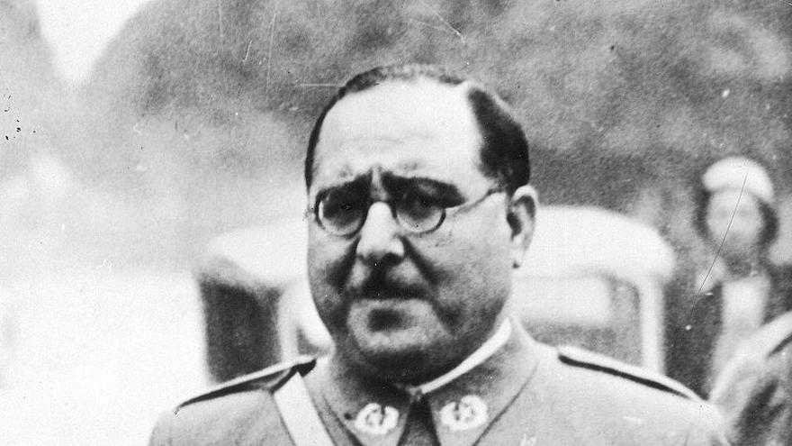 El general Antonio Aranda durante la Guerra Civil. / Wikipedia