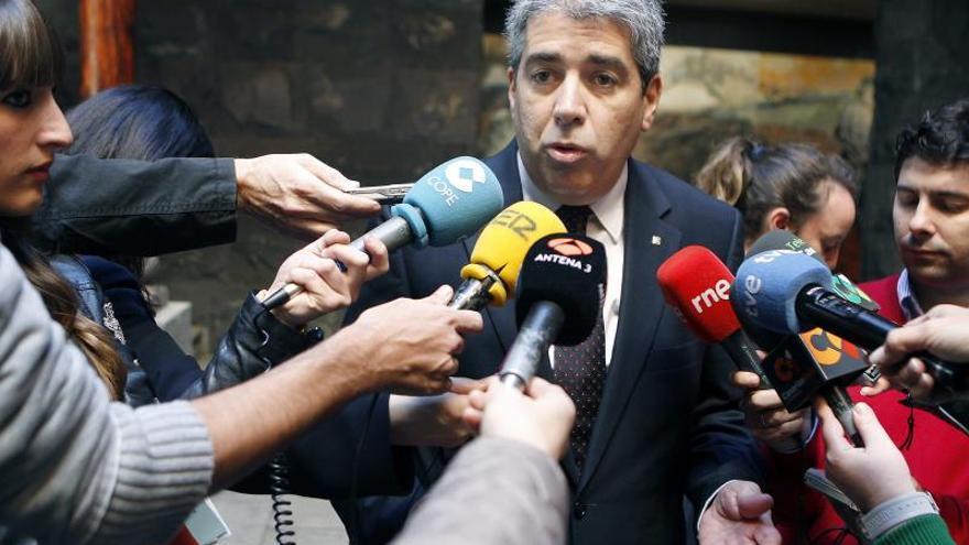 """Homs tilda de """"egoísta"""" e """"insolidaria"""" a CUP por abstenerse en la votación de mañana"""